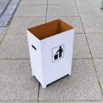 段ボールゴミ箱